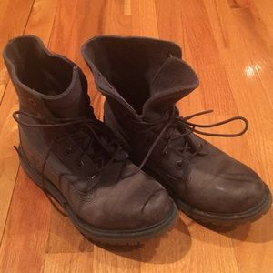 Timberland gray boots 7.5